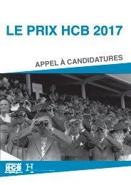 LE PRIX HCB 2017