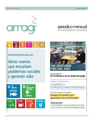 Amagi, Periódico mensual de Desarrollo Humano - Abril 2017