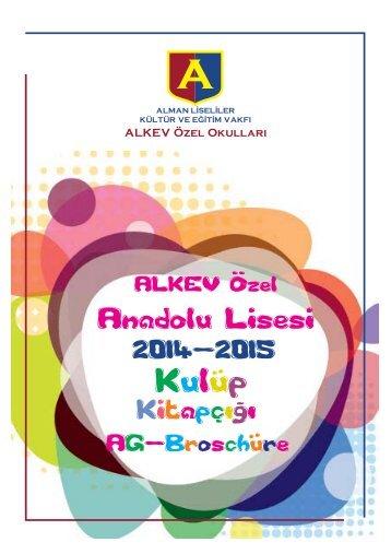 ALKEV Ozel. Anadolu Lisesi