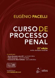 Curso de Processo Penal - Eugênio Pacelli - 2017