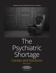 The Psychiatric Shortage