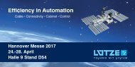 Hannover Messe 2017 24.-28 April Halle 9 Stand D54