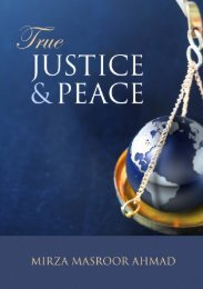 True Justice and Peace
