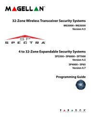 32-Zone Wireless Transceiver Security Systems