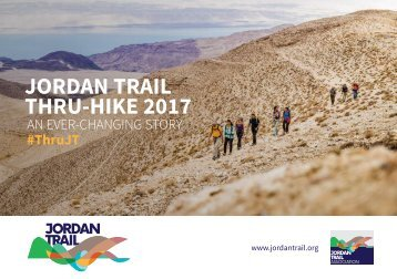 JORDAN TRAIL THRU-HIKE 2017