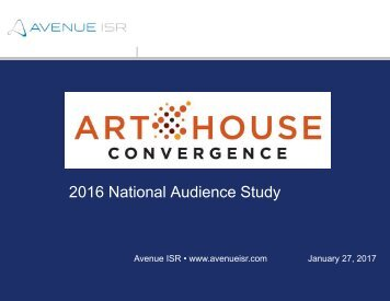 2016 National Audience Study