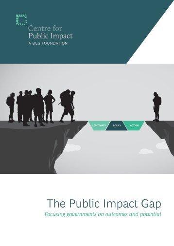 The Public Impact Gap