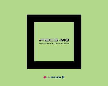 Download iPECS-MG brochure (2 MG PDF) - Dbl-eagle.com