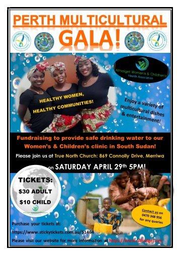 Perth Multicultural Gala 2017