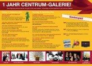 Programm - Centrum-Galerie Dresden