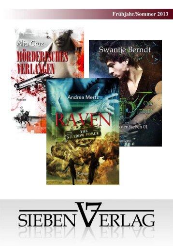 Frühjahr/Sommer 2013 - Sieben Verlag