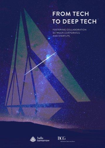 From Tech to Deep Tech