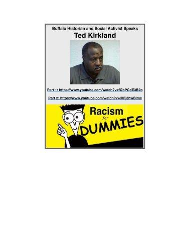 Ted Kirkland on Racism