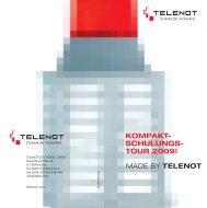 kompakt- schulungs- tour 2009! - Telenot