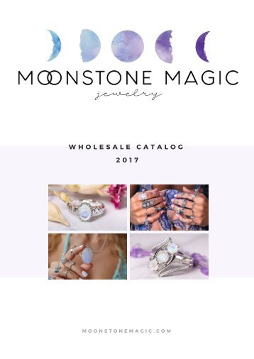 Moonstone Wholesale Catalog 2017