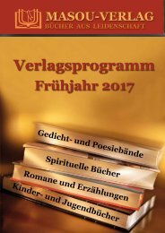 Verlagsprogramm Frühjahr 2017
