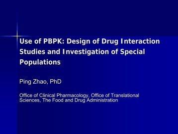 Demonstration: Modeling of Drug-Drug Interactions