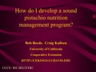How do I develop a sound pistachio nutrition - Kings County ...