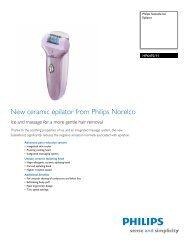 HP6492/11 Philips Epilator