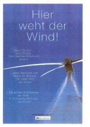 weht der Wind - Arge-Netz