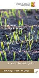Quer durch Schleswig-Holstein - Landesamt für Landwirtschaft ...