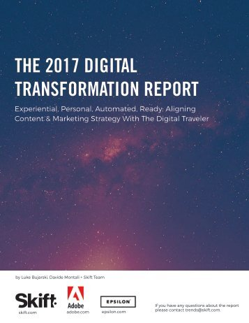 THE 2017 DIGITAL TRANSFORMATION REPORT