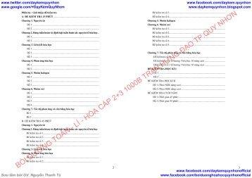 Bài tập, lý thuyết trọng tâm và tuyển tập đề kiểm tra Hóa lớp 10 hay, đầy đủ (Dạy Kèm Quy Nhơn Official sưu tầm và giới thiệu)