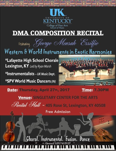 DMA comp2RECITAL FLYER