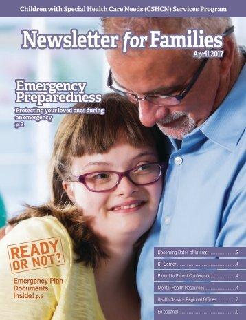 Newsletter Families