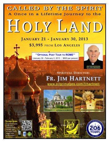 los angeles spiritual director: fr. jim hartnett - 206 Tours