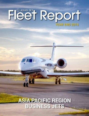 Business Jet Fleet Report 2016 - EN