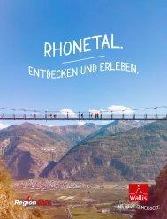 Wallis - Rhonetal entdecken und erleben