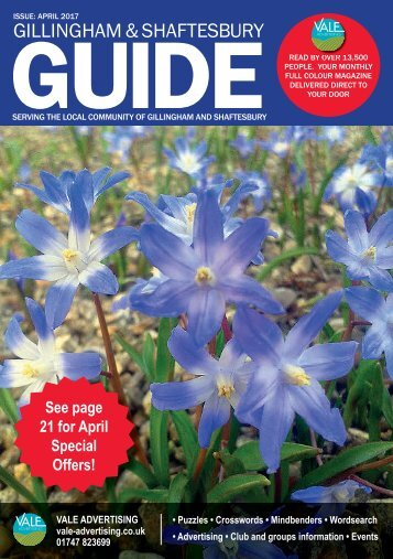 Gillingham & Shaftesbury Guide April 2017