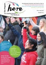 here – Das Magazin. Von Geflüchteten. Für Bochum – Ausgabe 3