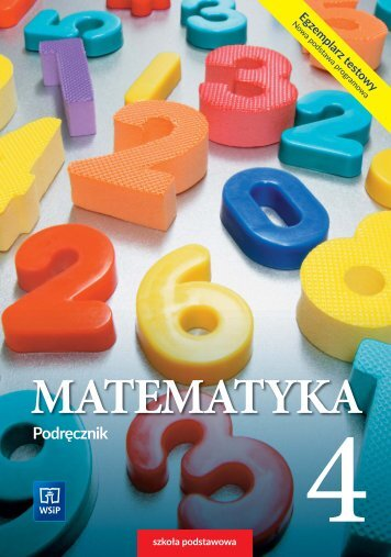 E80172 Matematyka klasa 4
