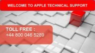 Apple MacBook Pro Technical Support Phone Number +448000465289