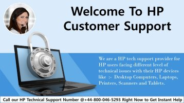 HP Customer Support Phone Number UK +44-800-046-5293 | Customer Service