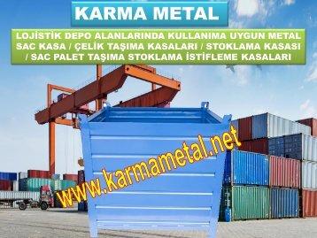 KARMA METAL-Otomotiv Sanayi icin Tasima Kasalari Metal Tasima Kasalari imalati