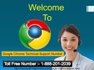 Chrome browser service number  1-888-201-2039