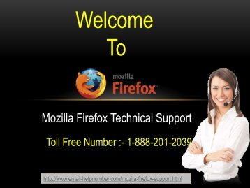 mozilla firefox technical support number  1-888-201-2039