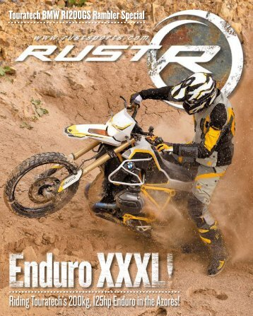 RUST magazine: Touratech BMW R1200GS Rambler Special