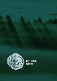 Purchase a Lodge at Afan Valley Adventure Resort