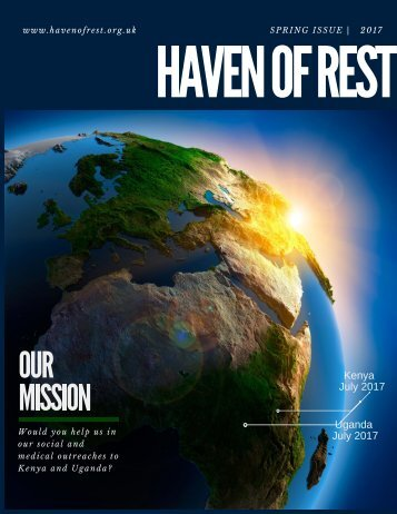 Haven of Rest - Spring Issue