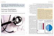 Schwere Krankheiten nach der VVG-Reform - Finanzarchiv