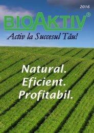 Catalog BioAktiv 2016