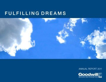 FULFILLING DREAMS - Tacoma Goodwill