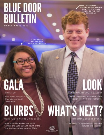 Blue Door Bulletin March-April 2017