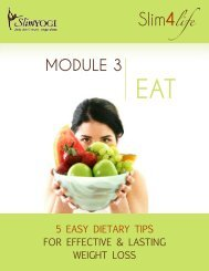 5 Easy Dietary Tips for Effective and Lasting Weight Loss | Free Download