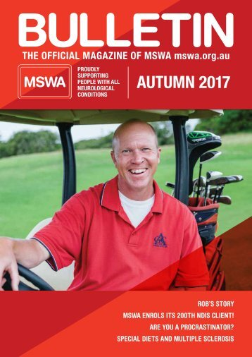 MSWA Bulletin Magazine Autumn 17