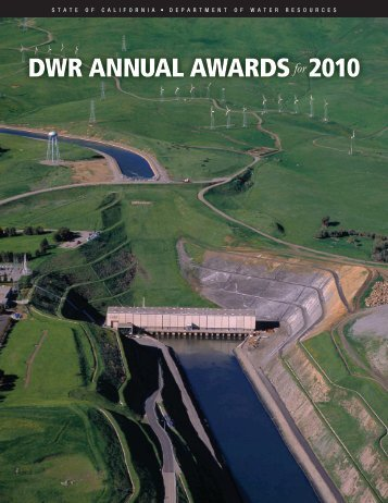 DWR ANNUAL AWARDSfor 2010 - Department of Water Resources ...